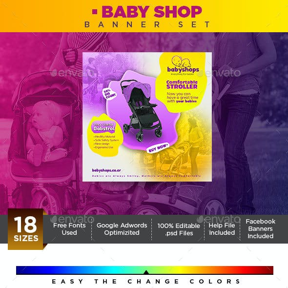 Baby Shop Banner