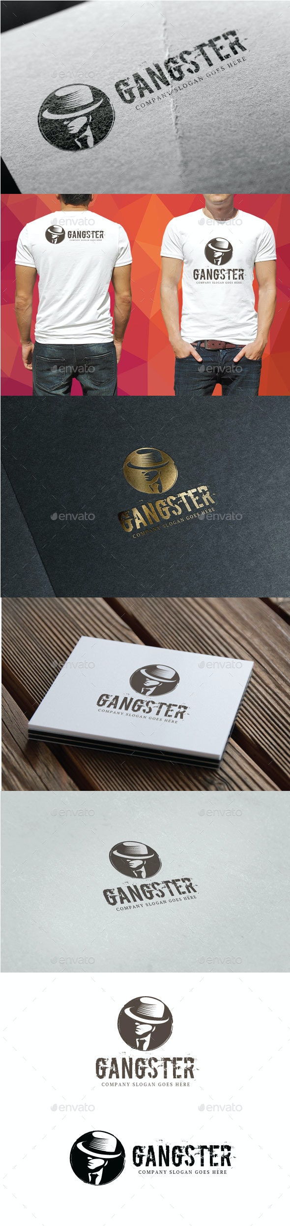 Gangster Logo - Objects Logo Templates