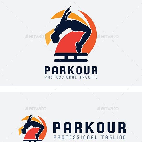 Parkour Sport Logo