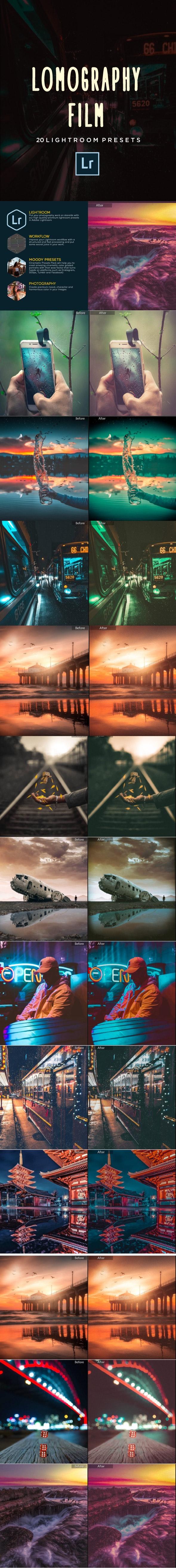 20 Lomography Film Lightroom Presets - Film Lightroom Presets