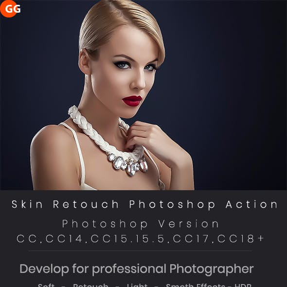 10 Skin Retouch Photoshop Action