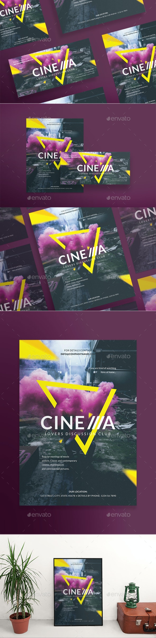 Cinema Club Flyers - Miscellaneous Events