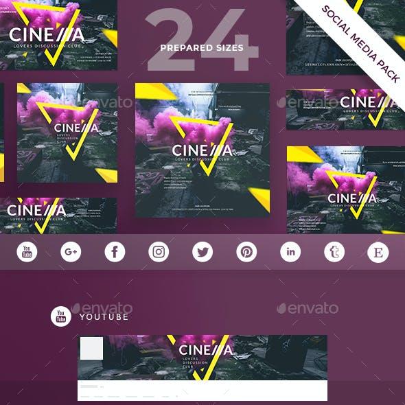 Cinema Club Social Media Pack