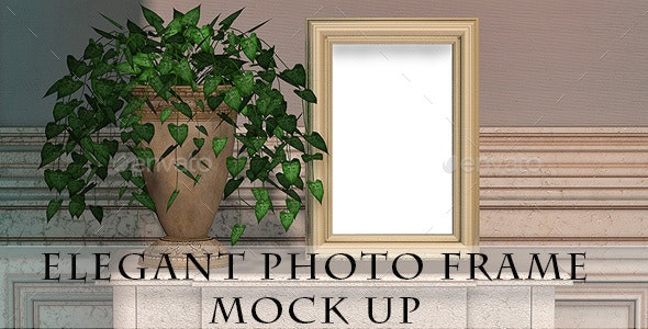 Decorative Elegant Photo Frame Mock Up - Miscellaneous Print