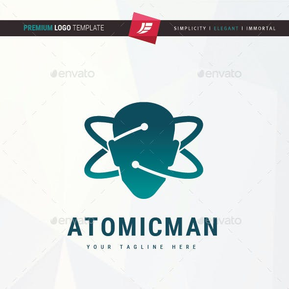 Atomic Man Logo