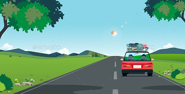Drive to Travel - Travel Conceptual