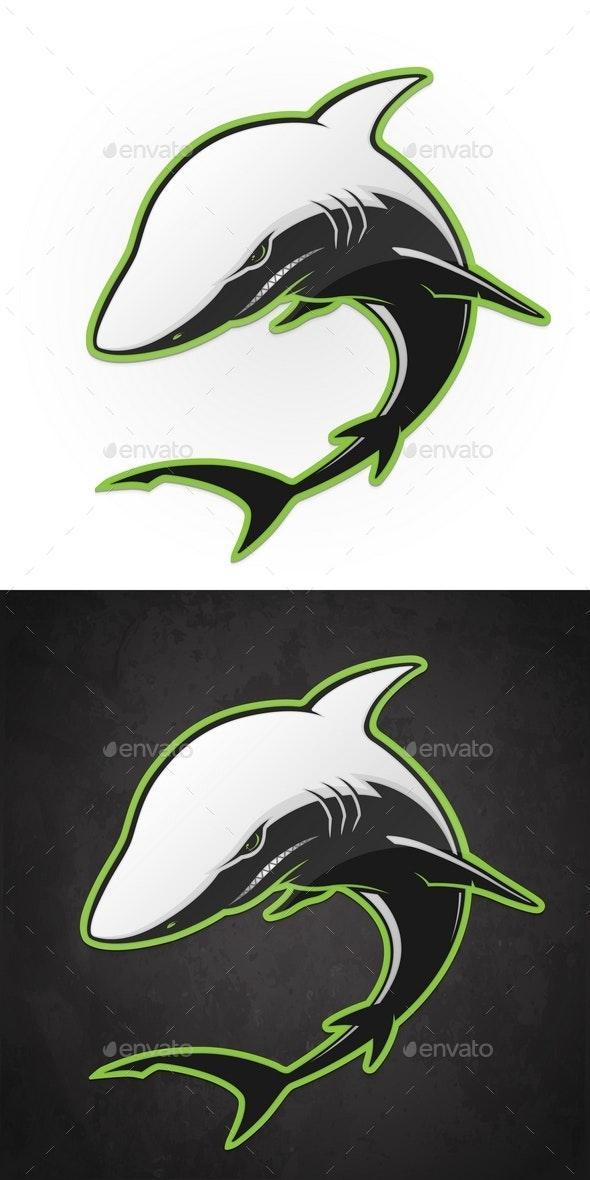 Vector Shark - Animals Characters