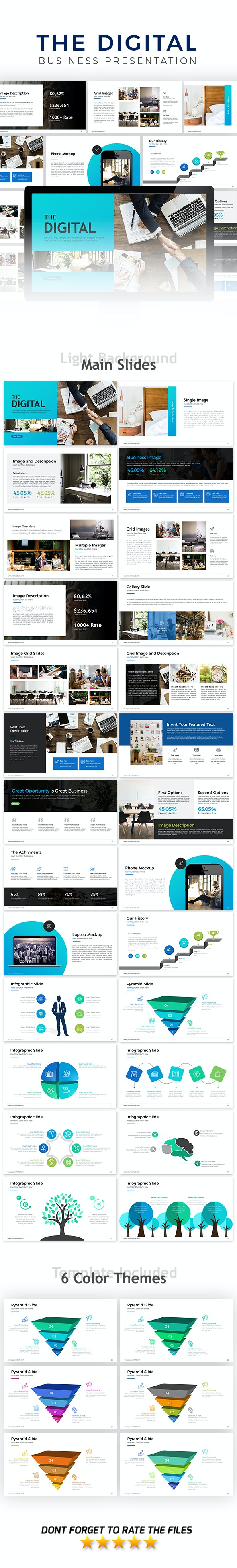 Ideas Agency Powerpoint Template - Business PowerPoint Templates