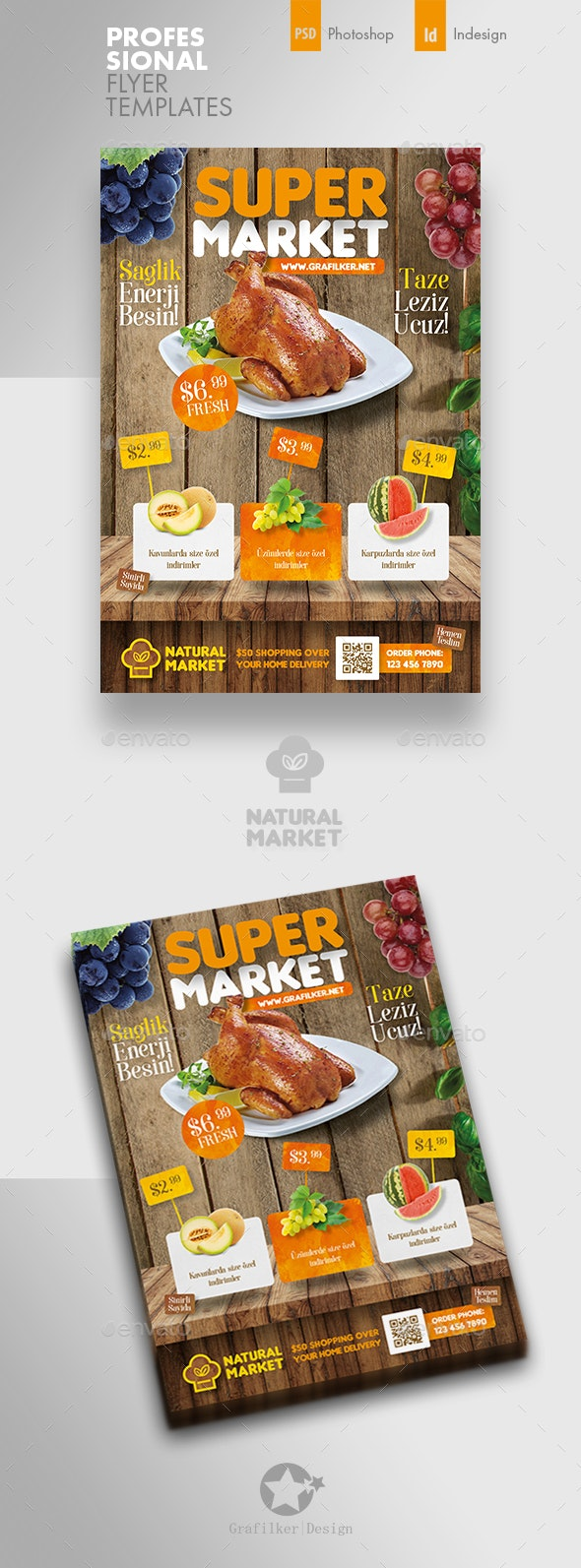 Supermarket Promotion Flyer Templates - Corporate Flyers