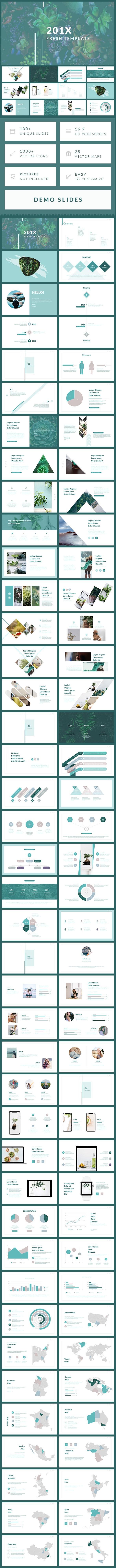 Fresh - PowerPoint Presentation Template - Business PowerPoint Templates