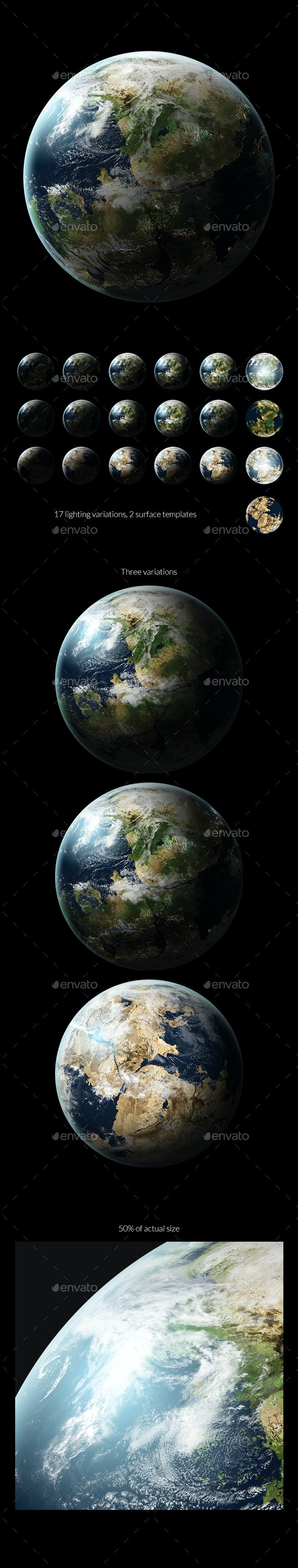 Planet Stock 15GR - Miscellaneous Illustrations