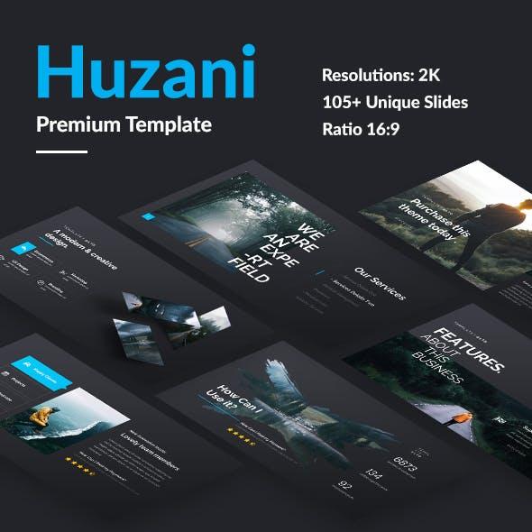 Huzani Premium Design Powerpoint Template