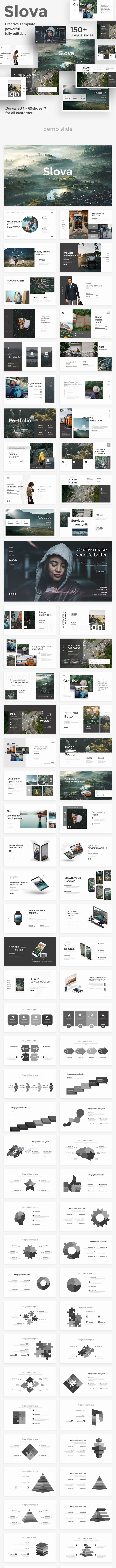 Slova Creative Project Powerpoint Template - Creative PowerPoint Templates