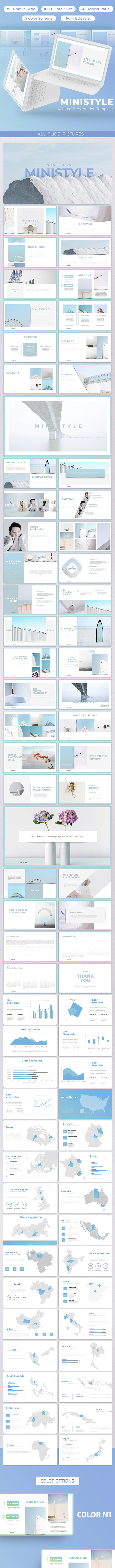 Ministyle - Keynote Template - Business Keynote Templates
