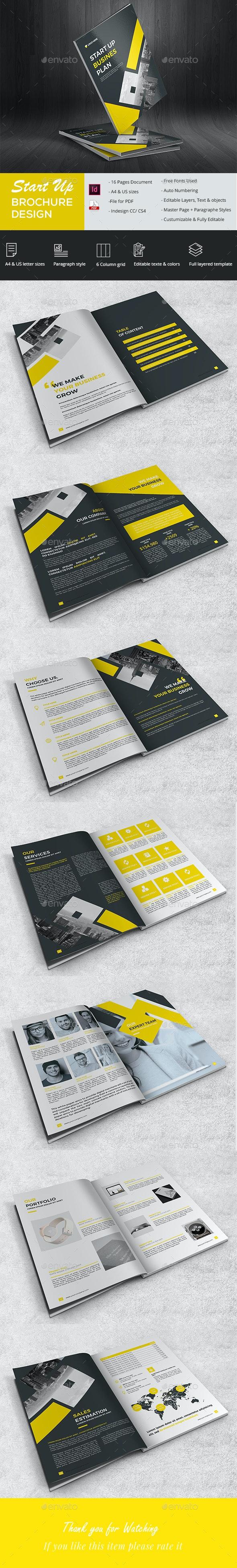 Stylish Startup Brochure - Corporate Brochures