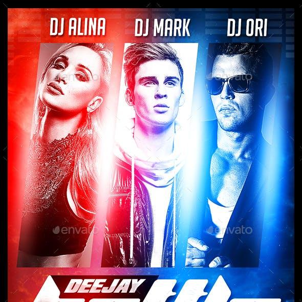DJ Battle Flyer