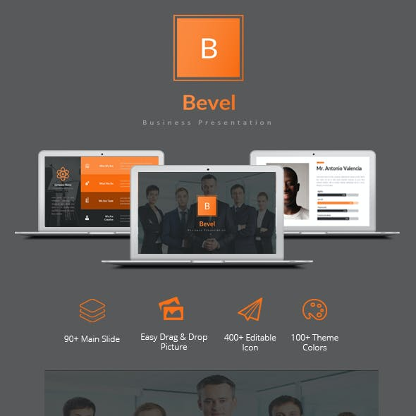 Bevel - Business Template Powerpoint