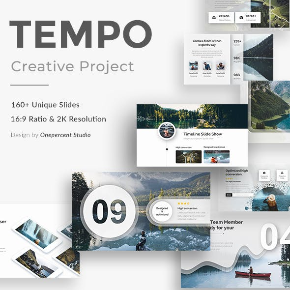 Tempo Creative Powerpoint Template