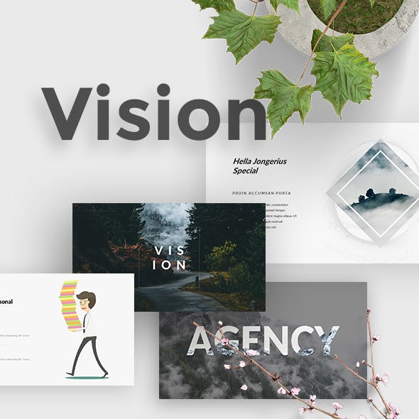 Vision Creative Powerpoint Template