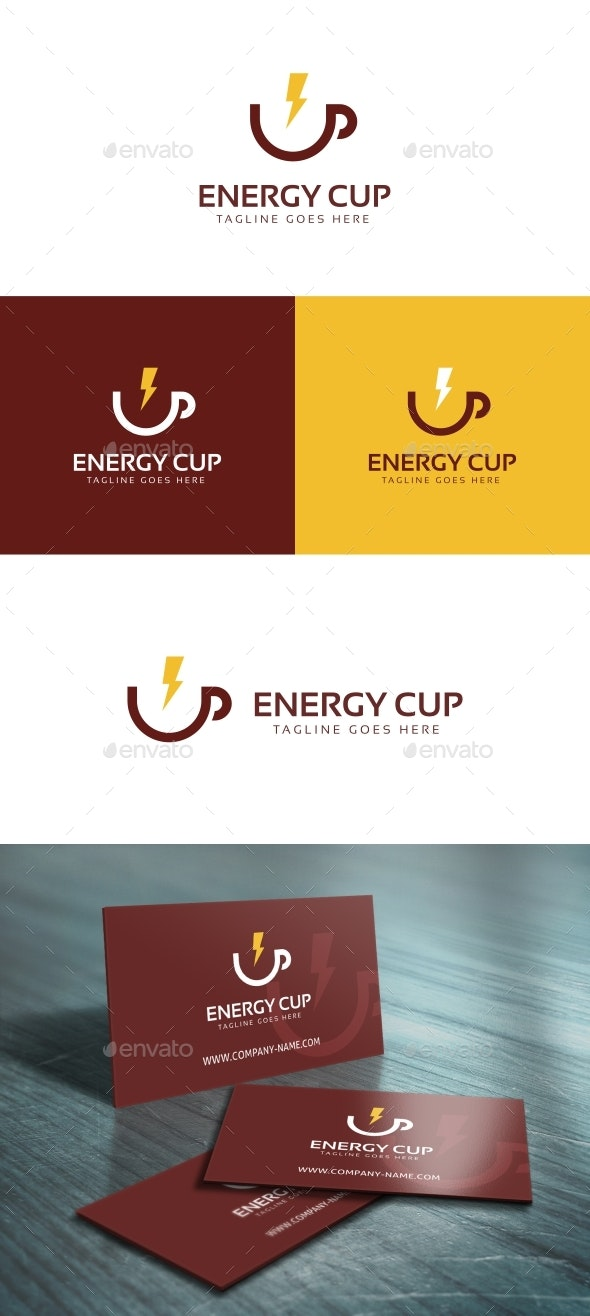 Energy Cup Logo Template - Symbols Logo Templates