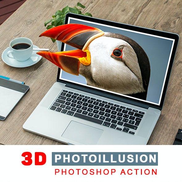 Photoillusion Photoshop Action