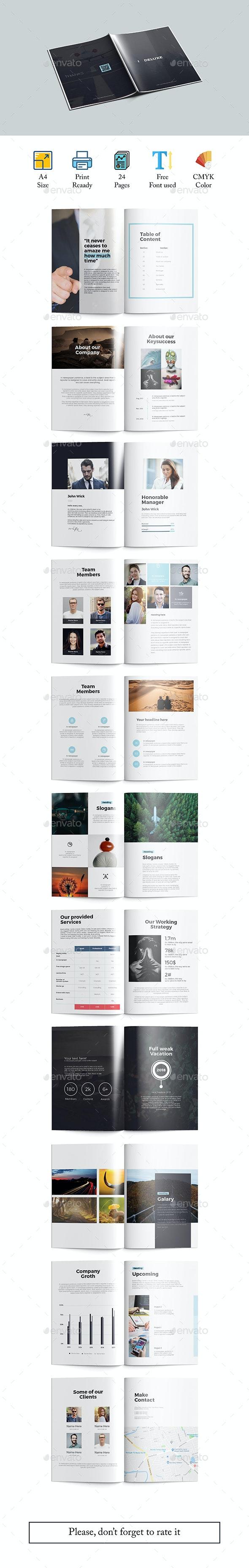 Deluxe A4  Brochure - Corporate Brochures