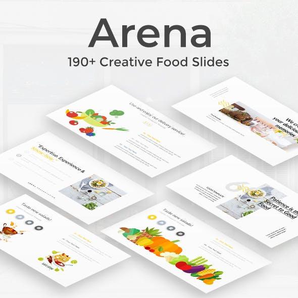 Arena Food Google Slide Template