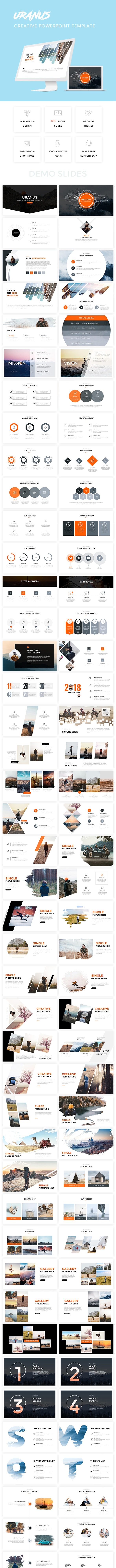 Bundle 2 in 1 Clean Powerpoint Template - Business PowerPoint Templates