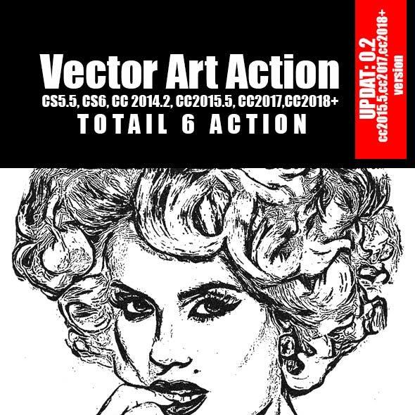 Vector Art Action