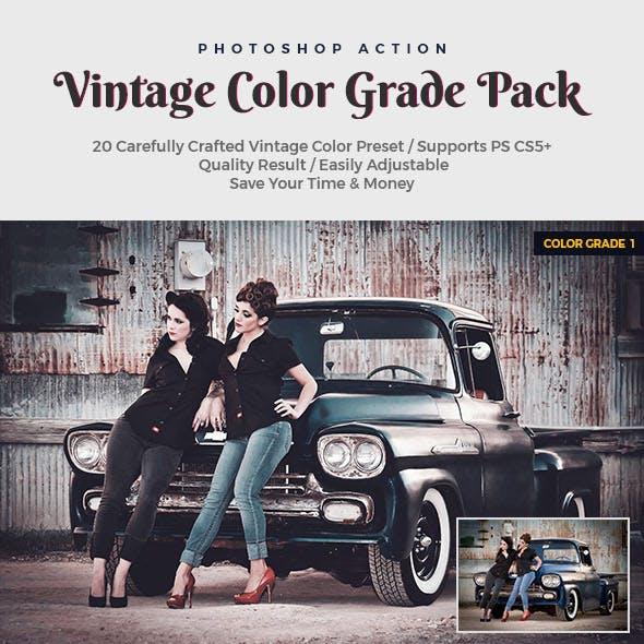 Vintage Color Grade Pack