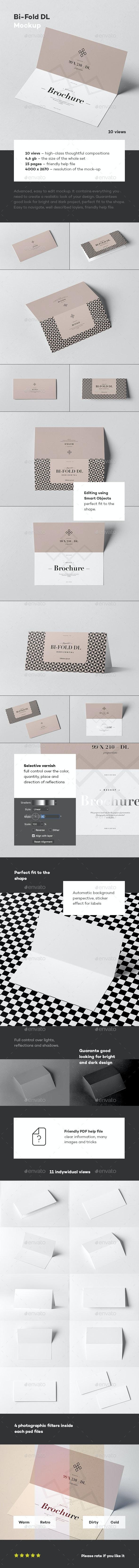 Bi-Fold DL Horizontal Brochure - Brochures Print