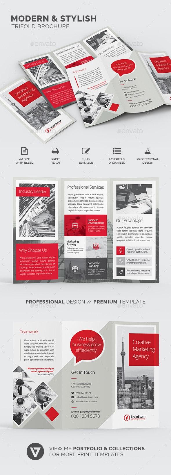 Trifold Brochure - Corporate Brochures