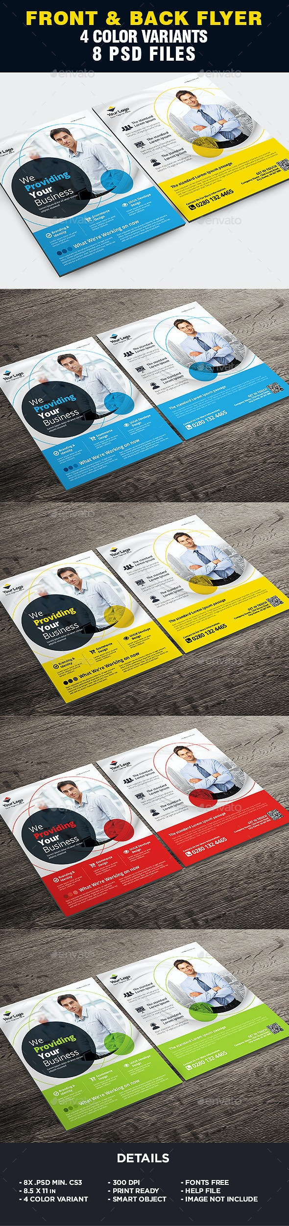 Corporate - Business Flyer Template - Corporate Flyers