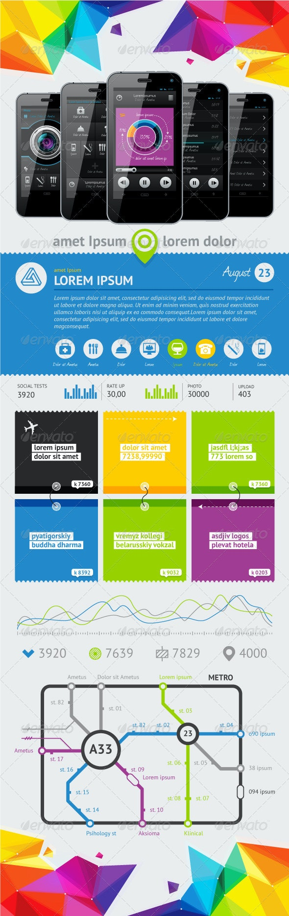 Elements of User Interface  - Miscellaneous Vectors