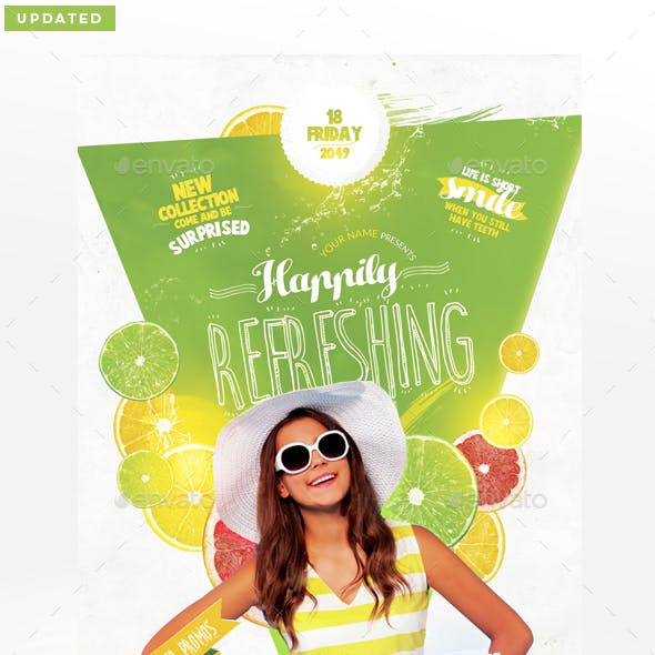 Refreshing Flyer Template