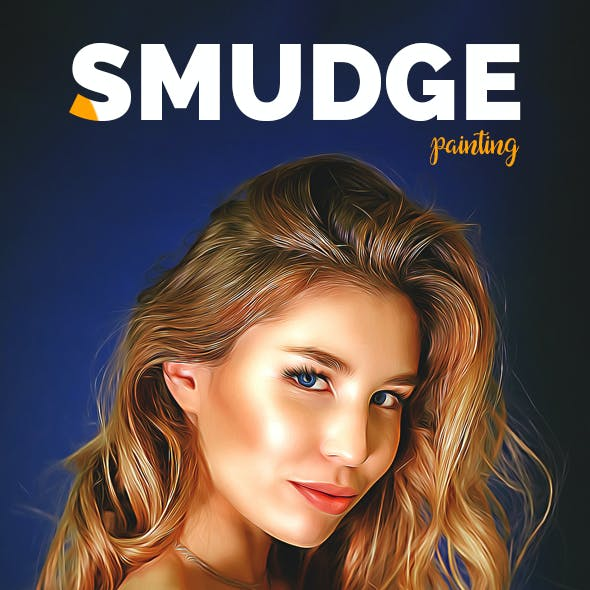 Smudge Painting