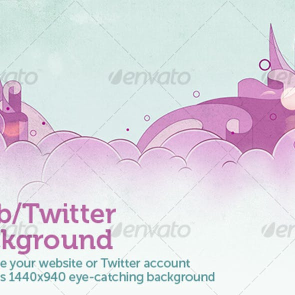 Web/Twitter background