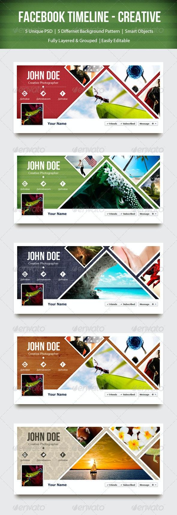Facebook Timeline - Creative - Facebook Timeline Covers Social Media