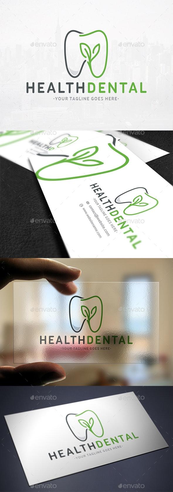 Dental Health Logo Template - Objects Logo Templates