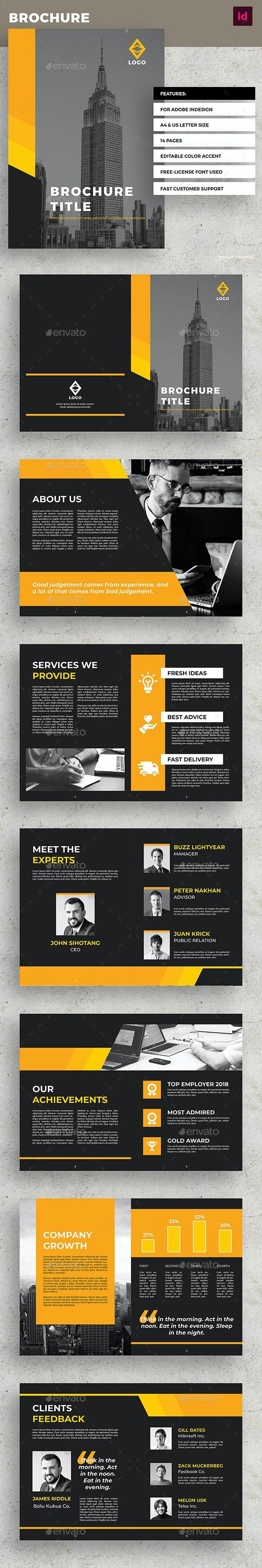 Yellow Business Brochure - Corporate Brochures