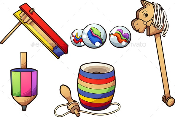 Typical Mexican Toys - Man-made Objects Objects