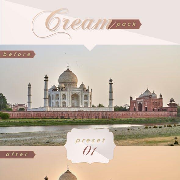 5 Lightroom Presets - Cream Pack (+Mobile Version)