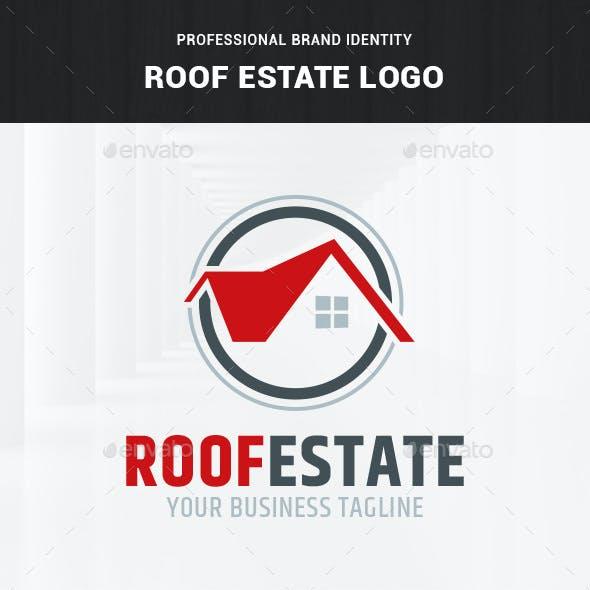 Roof Estate Logo Template