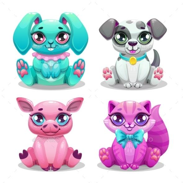 Cartoon Animals Set - Animals Characters
