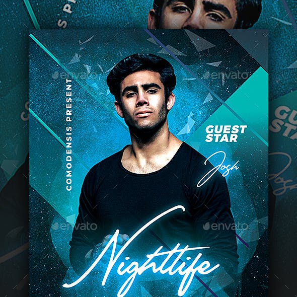 Nightlife Night Party Flyer Templates