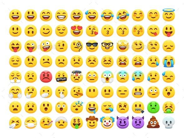 Cartoon Emoji - People Characters
