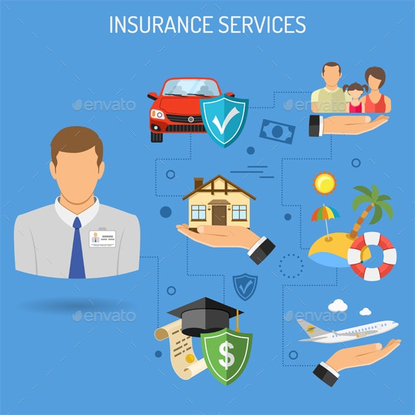 Insurance Services Banner - Services Commercial / Shopping