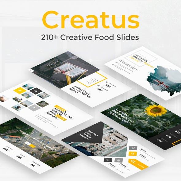 Creatus Premium Powerpoint Template