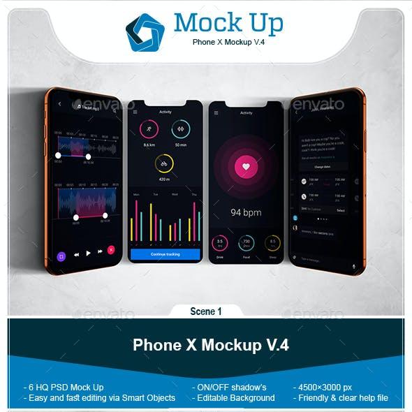 Phone X Mockup V.4
