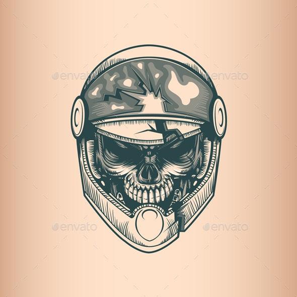 Racer Skull